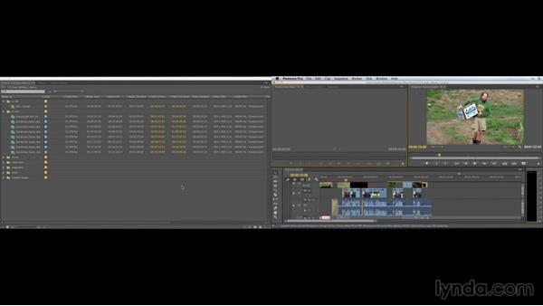 A dual-screen editing workspace: Premiere Pro Guru: Customizing Workspaces