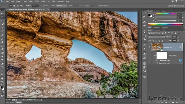 Working with a 32-bit channel image: Photoshop CC One-on-One: Mastery