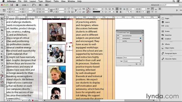 132 Contextual text and images that you only want sometimes visible: InDesign Secrets