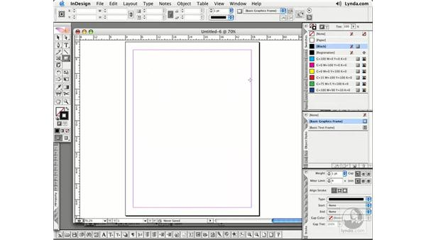 Frames and Shapes Pt. 2: InDesign CS2 Essential Training