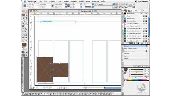 Filling Objects: InDesign CS2 Essential Training