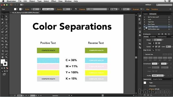 Type considerations: Package Design with Illustrator