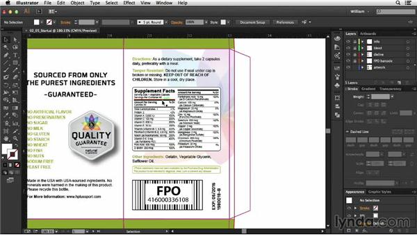 Legal requirements: Package Design with Illustrator