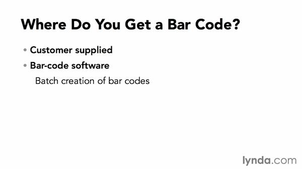 Where do you get a barcode?: Package Design with Illustrator