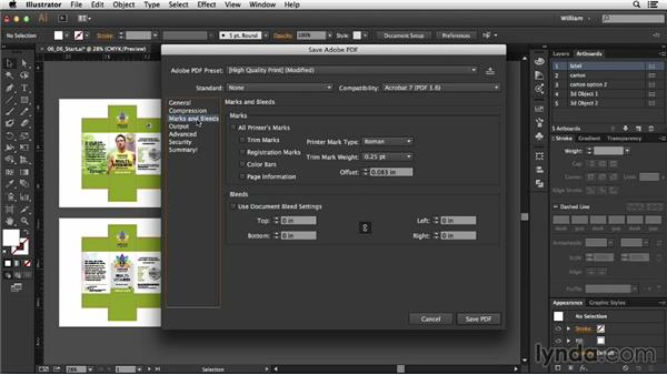 Creating a PDF presentation: Package Design with Illustrator