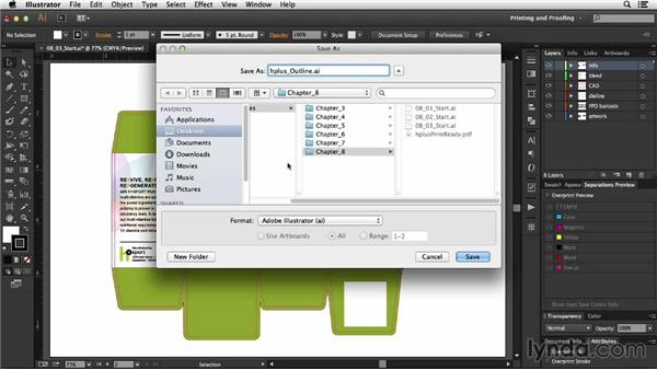 Legacy Illustrator and EPS files: Package Design with Illustrator