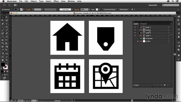 Exploring the finished font: Creating Icon Fonts for the Web