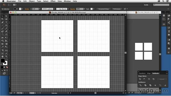 Setting grids and guides: Creating Icon Fonts for the Web