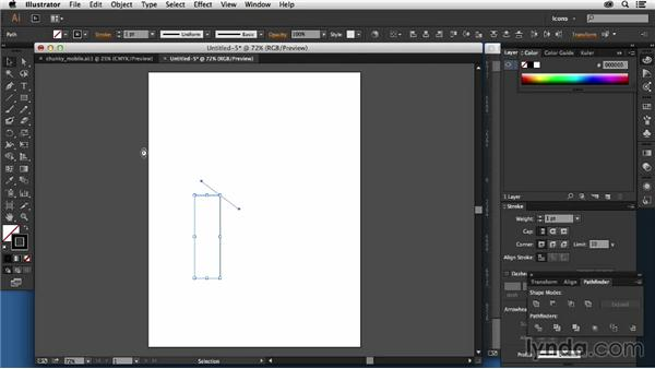 Tips for drawing curves: Creating Icon Fonts for the Web