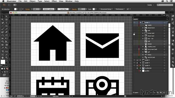 Simplifying paths: Creating Icon Fonts for the Web