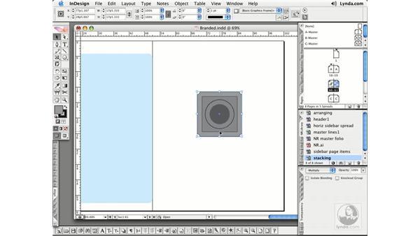 Stacking, Arranging, and Locking: InDesign CS2 Essential Training