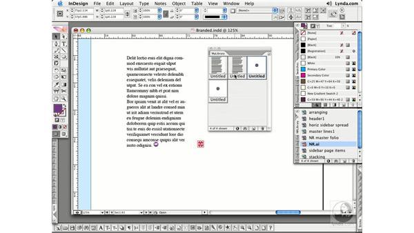 Creating Libraries: InDesign CS2 Essential Training