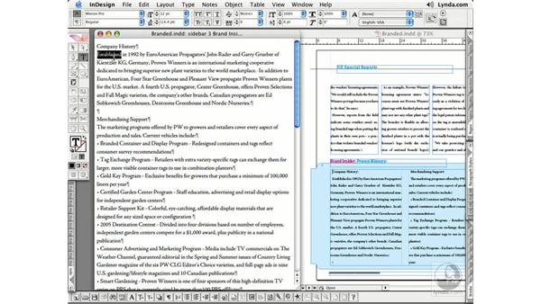 Story Editor Pt. 2: InDesign CS2 Essential Training