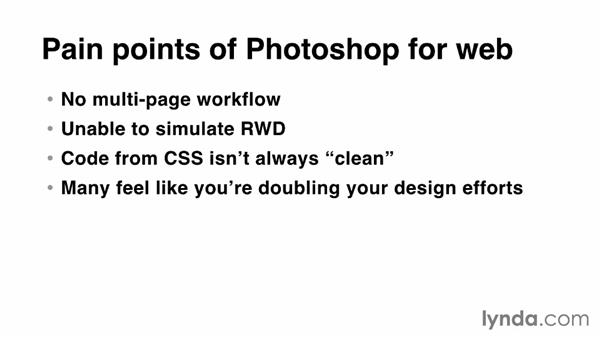 Why use Photoshop for web design?: Photoshop CC for Web Design