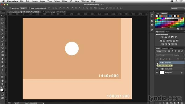 Decoding screen size and resolution: Photoshop CC for Web Design