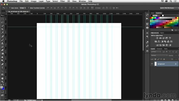 Setting up your project: Photoshop CC for Web Design