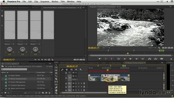 Marker enhancements: Premiere Pro: Creative Cloud Updates