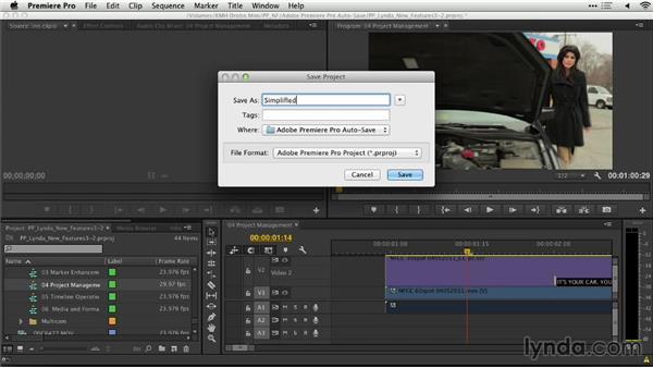Project management: Premiere Pro: Creative Cloud Updates