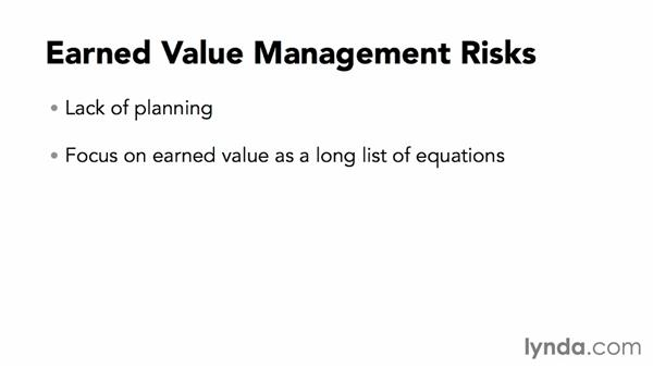 Earned value management risks: Calculating Earned Value