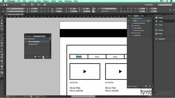 Welcome: UX Design Tools: InDesign