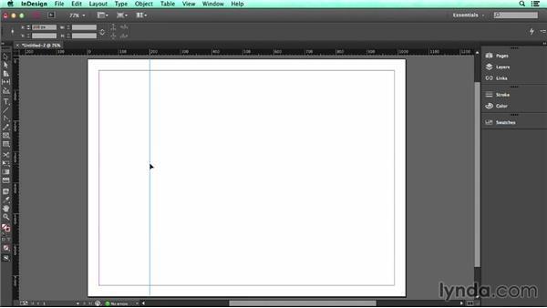 Using guides: UX Design Tools: InDesign