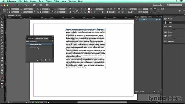 Setting document defaults: UX Design Tools: InDesign
