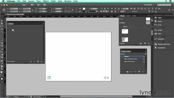 Building a library of reusable artwork: UX Design Tools: InDesign