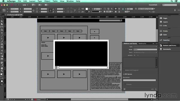 Export to HTML5 using in5: UX Design Tools: InDesign