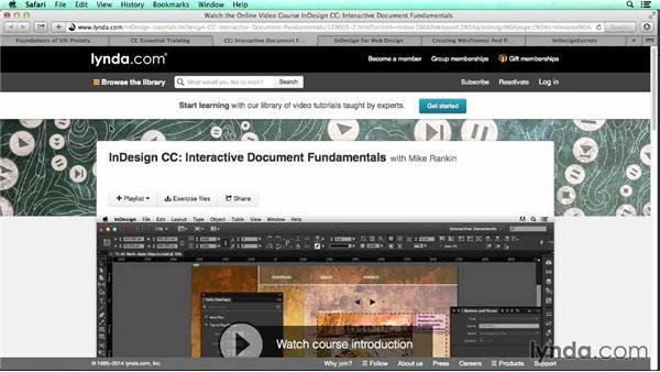 Next steps: UX Design Tools: InDesign