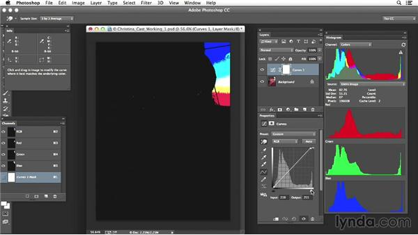 Project two: Evaluating a portrait image with an extreme color cast: Photoshop Color Correction: Advanced Projects