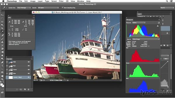 Project six: Adjusting seascapes based on selective evaluation: Photoshop Color Correction: Advanced Projects