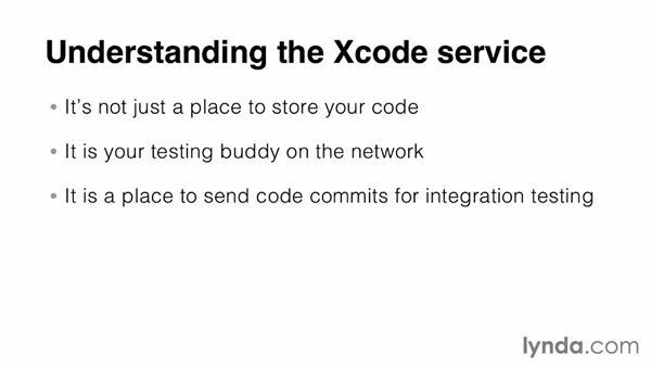 Introducing the Xcode service: Up and Running with OS X Server App