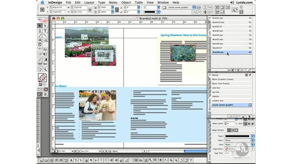 Updating and Relinking: InDesign CS2 Essential Training