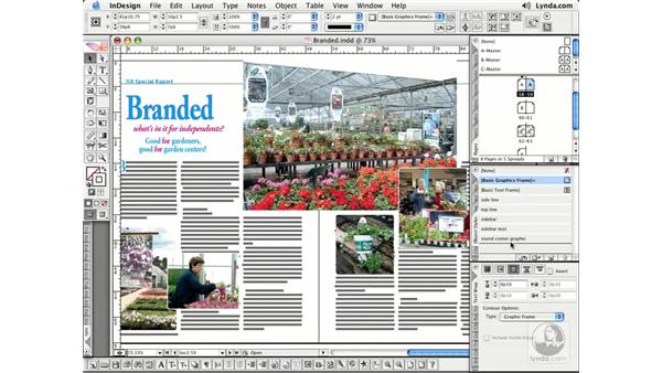 Applying Text Wraps: InDesign CS2 Essential Training