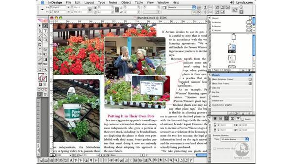 Editing Text Wraps: InDesign CS2 Essential Training