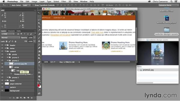 Setting optimization and image quality: Design the Web: Adobe Generator for Graphics