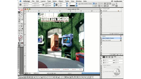 Object Layer Options: InDesign CS2 Essential Training