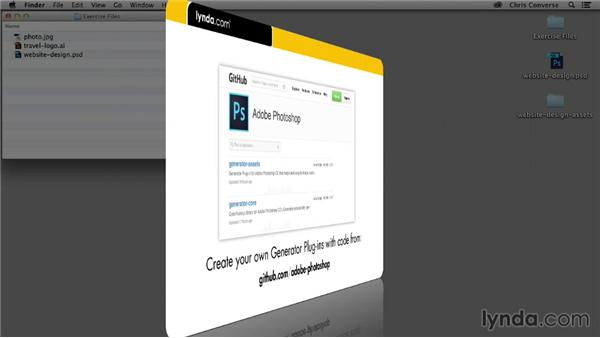 Where to go to extend Adobe Generator: Design the Web: Adobe Generator for Graphics