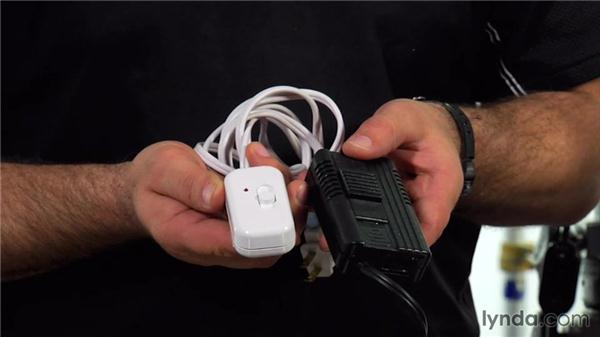 Stingers and adapters: Lighting a Video Interview