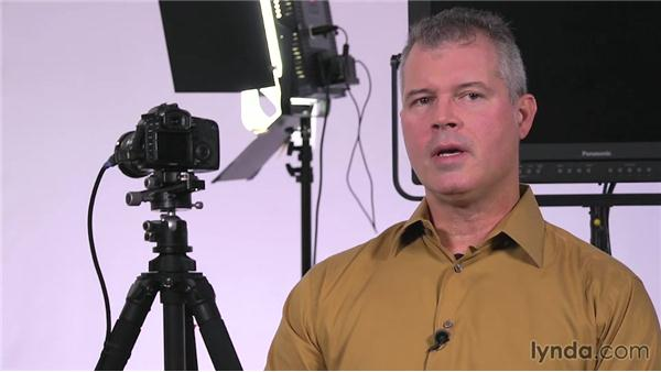 Technical concerns: Lighting a Video Interview
