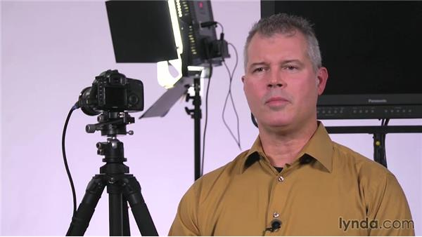 Dimming: Lighting a Video Interview