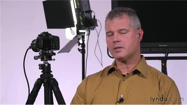 Color correcting: Lighting a Video Interview