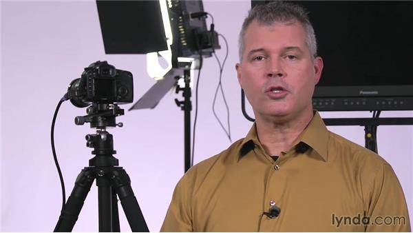 Wrapping up: Lighting a Video Interview