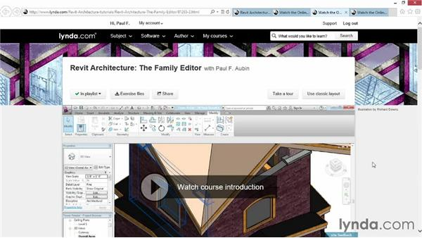 What you should know before watching this course: Revit: Family Curves and Formulas