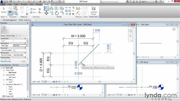 Controlling rotation: Revit: Family Curves and Formulas