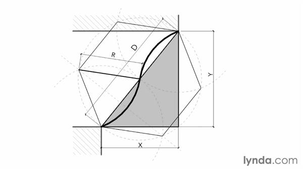 Understanding cyma curves: Revit: Family Curves and Formulas