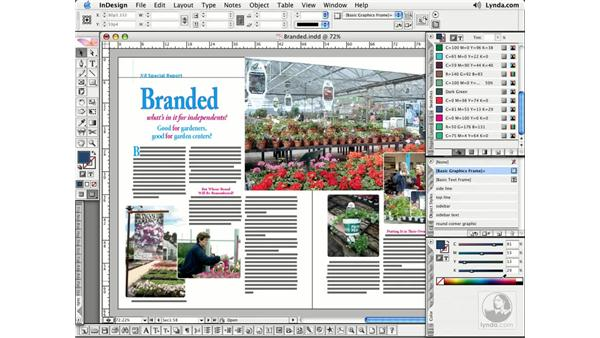 Creating and Editing Swatches: InDesign CS2 Essential Training