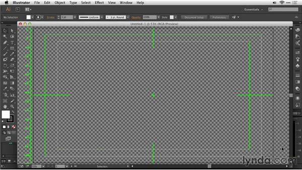 Size a vector logo in Adobe Illustrator: Motion Graphics for Video Editors: Creating Animated Logos