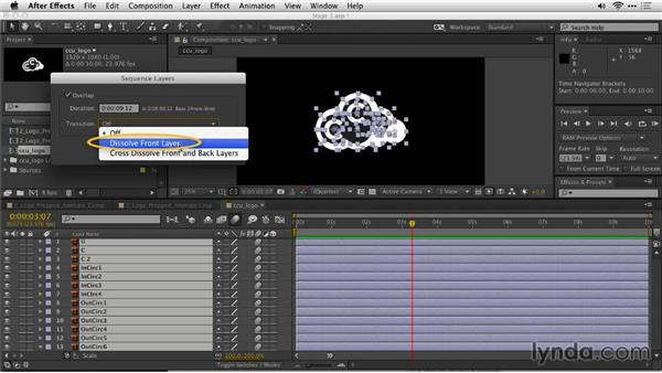 Other animation techniques in After Effects: Motion Graphics for Video Editors: Creating Animated Logos