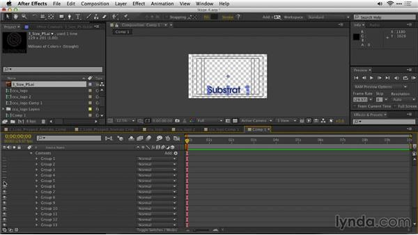 Create shape layers in After Effects: Motion Graphics for Video Editors: Creating Animated Logos